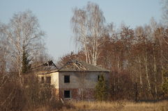 The Chernobyl exclusion zone. Stock Images