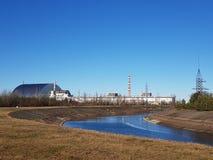 chernobyl katastrofy Kiev pamięci pomnikowy elektrowni nuklearnej władzy region Ukraine Zdjęcie Stock