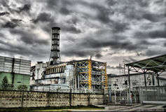 Chernobyl-Kraftwerk stockbild