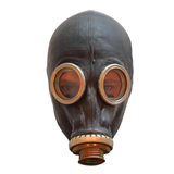 Chernobyl mask with man eyes Royalty Free Stock Image