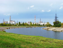 Chernobyl Nuclear Power Plan Stock Photography