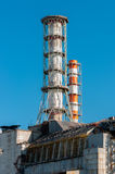 The Chernobyl Nuclear Power plant Stock Image