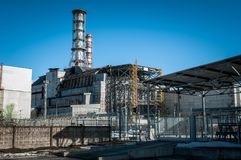 The Chernobyl Nuclear Power plant Royalty Free Stock Photos