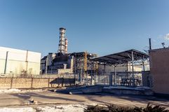 The Chernobyl Nuclear Power plant Royalty Free Stock Images