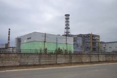Chernobyl nuclear power plant Stock Photos