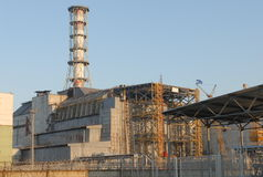 Chernobyl Nuclear Power Plant royalty free stock photography