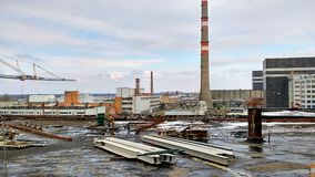 Chernobyl  nuclear power plant Stock Photography