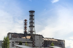 The Chernobyl nuclear power plant Stock Images