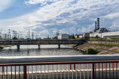 The Chernobyl nuclear power plant Royalty Free Stock Photo