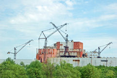 Chernobyl nuclear power station Royalty Free Stock Images