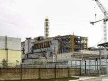 Chernobyl Nuclear Power Station in Ukraine, 2016 Stock Image
