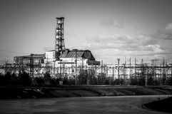The Chernobyl Nuclear Pwer Plant Stock Images