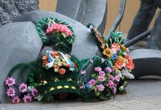 Chernobyl pomnik Fotografia Royalty Free