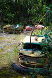 Chernobyl - Pripyat amusement park Stock Photos