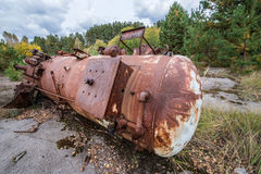 Chernobyl Zone Stock Photography