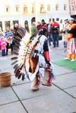 CHERNOVTSY, de OEKRAÏNE, 22 Oktober, 2010, Peruviaans Royalty-vrije Stock Foto's