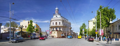 Chernovtsy- famous and popular Royalty Free Stock Image
