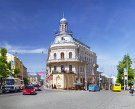 Chernovtsy- famous and popular Stock Photo