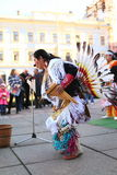 CHERNOVTSY, UCRÂNIA: 22 de outubro de 2010, peruano Fotografia de Stock Royalty Free