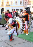 CHERNOVTSY, UCRÂNIA, o 22 de outubro de 2010, peruana Imagem de Stock