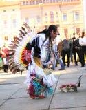 CHERNOVTSY, UCRÂNIA, o 22 de outubro de 2010: Peruano Imagens de Stock Royalty Free