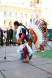 CHERNOVTSY, UCRAINA, il 22 ottobre 2010, peruviano Immagini Stock Libere da Diritti
