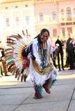 CHERNOVTSY, UCRAINA, il 22 ottobre 2010, peruviano Fotografie Stock