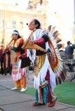 CHERNOVTSY, UCRAINA, il 22 ottobre 2010, peruviano Fotografia Stock
