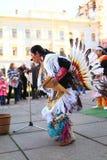 CHERNOVTSY, UKRAINE : Le 22 octobre 2010, péruvien photographie stock libre de droits