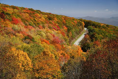 Cherohala Skyway Royalty Free Stock Image