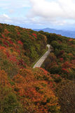 Cherohala Skyway photographie stock libre de droits