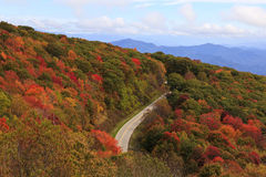 Cherohala Skyway image stock