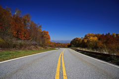 Cherohala Skyway, Tennessee Royalty Free Stock Photos
