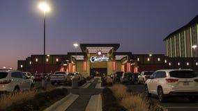 Cherokee экстерьер казино, Рональд, О'КЕЙ Стоковые Фото
