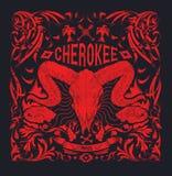 Cherokee Arkivbild