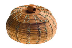 Cherokee basket Stock Photography