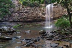 Cherokee Dalingen bij Cloudland-het Park van de Canionstaat in Georgië stock afbeeldingen