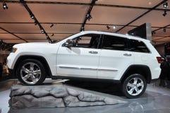 Cherokee della jeep della Chrysler grande Fotografia Stock