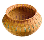 Cherokee handwoven basket Royalty Free Stock Photos