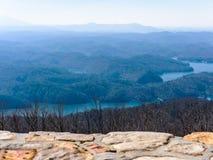 Cherokee staatlicher Wald Stockfoto