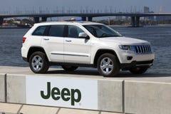 cherokee storslagen jeep Arkivbild