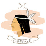 Cherokee Royalty Free Stock Image