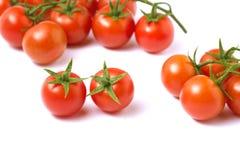 Cherri tomatoes Royalty Free Stock Images