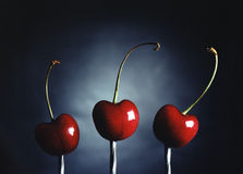 Cherries #1 Royalty Free Stock Photos