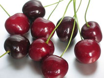 Cherries. A handful of cherries Royalty Free Stock Images