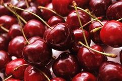 Cherries. Closeup fresh Cherry fruits - background Stock Photography