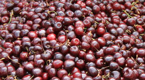 Cherries. Close-up for abstract background Stock Photo
