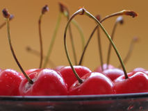 Cherries. Closeup Stock Photo