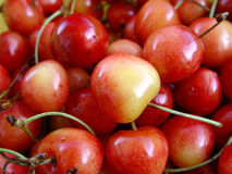 Cherries. Juicy cherries Royalty Free Stock Photography