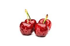 Cherries against white Stock Image